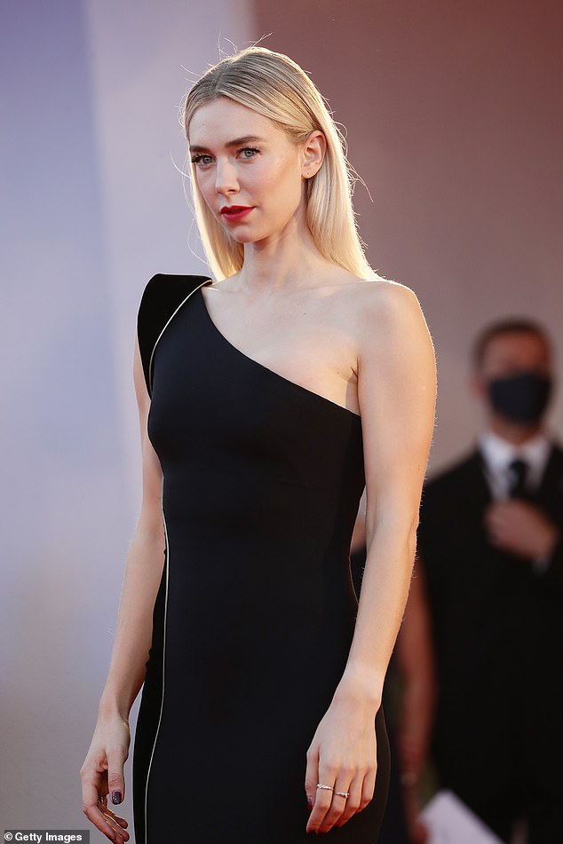 Getting ready:She spoke about preparing for the Pieces Of A Woman role, saying: 'I had a dress rehearsal of birth, which is so crazy, 'cause I'm sure it will be completely different when I actually do it and be like, 'oh f**k! Oh God!'