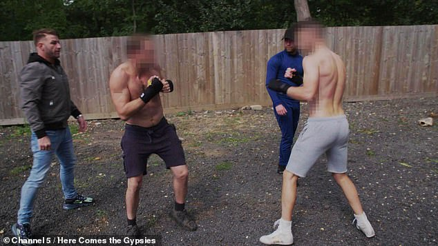 Boxer Tony 'the Rhino' Giles and his cousin Jonny take part in the fight as 'fair play men' to ensure the safety of the fighters