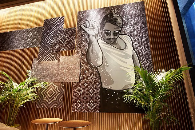 According to the lawsuit, Hicks and Joseph Iurato were commissioned to create the artwork in September 2017 for Gökçe's Nusr-and Miami steakhouse.  An additional piece was made in New York