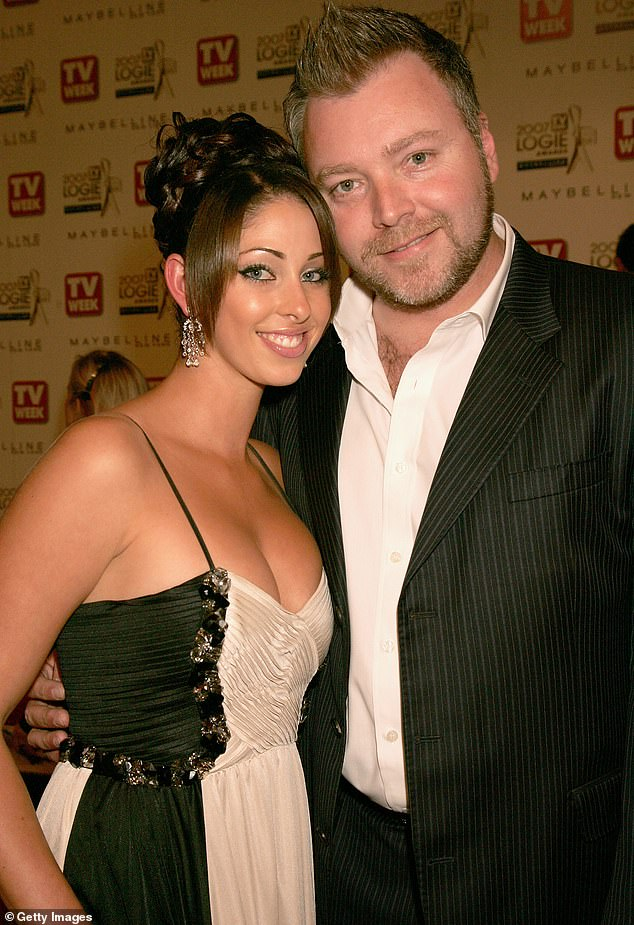 Ex-wife: Kyle was married to singer Tamara Jaber from 2008 to 2010. Pictured in May 2007
