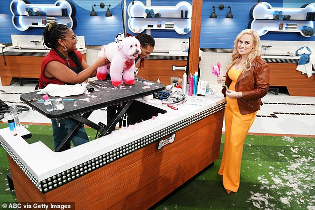 Hostess with the mostess! The Pitch Perfect star is also on US screens as the host of the American version of Pooch Perfect on the ABC network