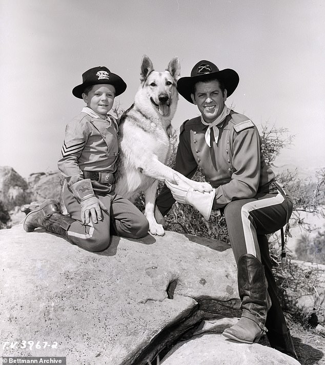 Blockbuster TV Show: Aaker is best known for playing alongside a German Shepherd and actor James Brown in the ABC television series The Adventures of Rin Tin Tin for five seasons from 1954 to 1959