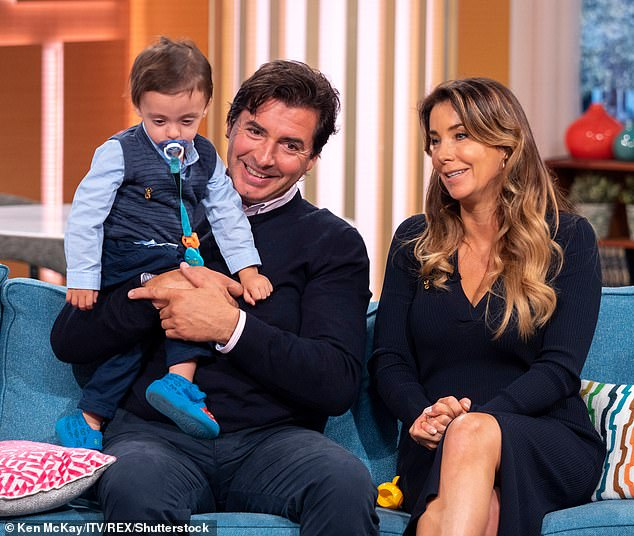 Consciousness: Jean-Christophe admitted the lockdown had woken him up to the severity of his youngest son Valentino's autism after initially denying his symptoms