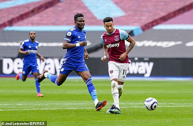Lingard has scoredeight goals and provided three assists in just nine West Ham league games