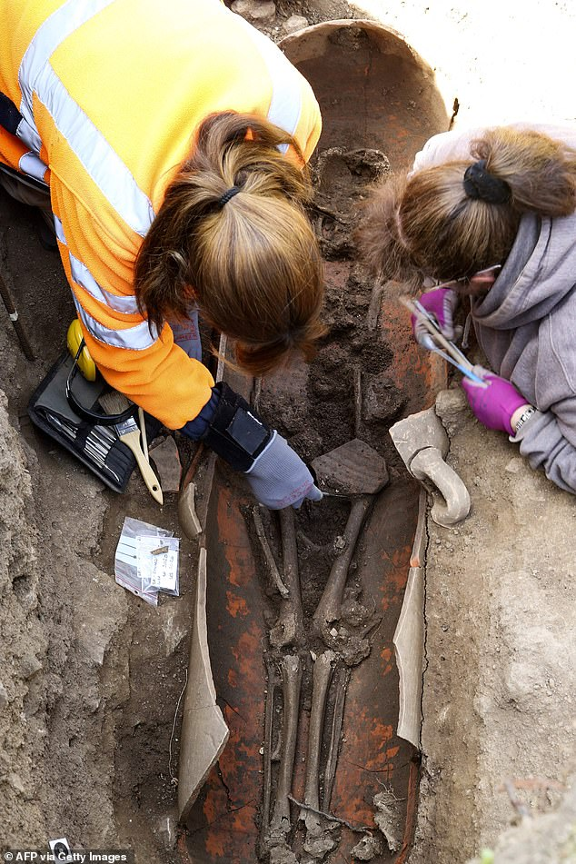 A dozen tombs were uncovered in 2019 during archaeological surveys in advance of a construction project. Experts found dozens more in February and March during excavation of two 6,500-square-foot sites in the center of town