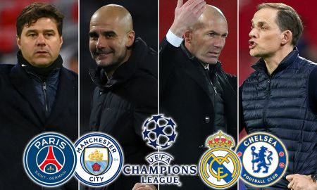 Champions League Semi-final DATES CONFIRMED: PSG Vs Man City And Real  Madrid Vs Chelsea | Daily Mail Online