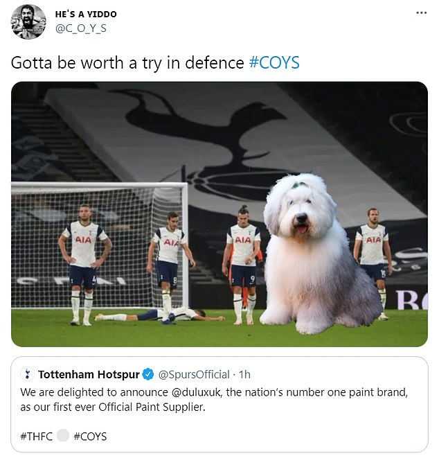 More fans jumped on the bandwagon and took the opportunity to make fun of Spurs more