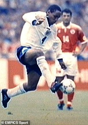 Paul Ince was a key man at Euro 96