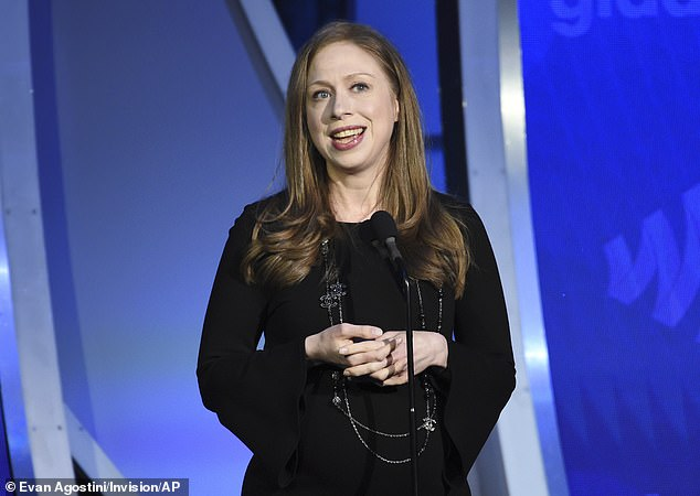 Chelsea Clinton has been slammed on Twitter after chiming in amid a spat between Tucker Carlson and Dr. Anthony Fauci