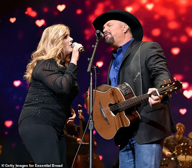 Better but tough: After celebrating her 15th birthday with Garth Brooks in December, Trisha Yearwood explains how 'hard' their union can be