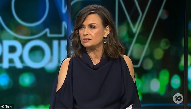 Payday: Wilkinson is reportedly paid a seven-figure salary to host Channel 10's nightly current affairs show The Project and its Sunday edition