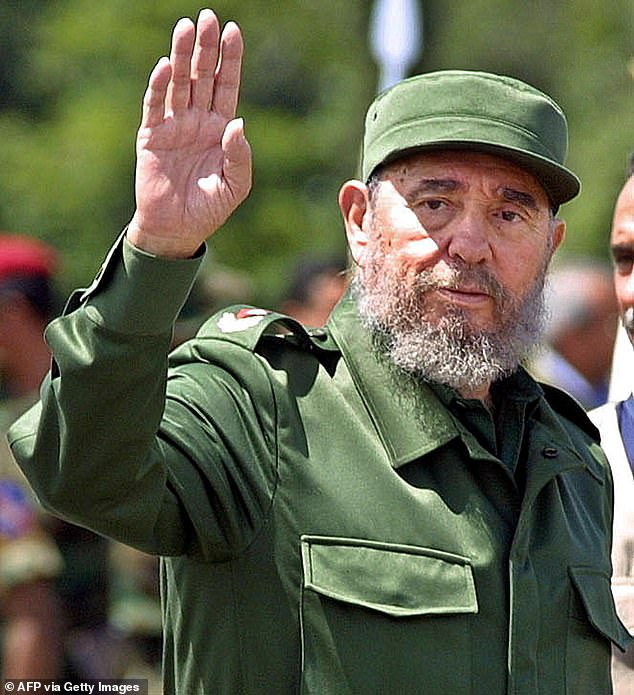 This officially ends six decades of dominion over Cuban politics by Castro and his brother Fidel (pictured), who ruled for nearly half a century from 1959 to 2006 and is widely revered as the country's father and saviour