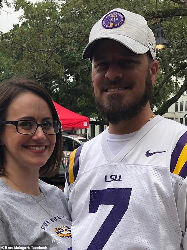 Malagarie and his wife Cori.It is too early to tell whether or not the vaccine is causing blood clots but only 6 blood clot cases have been confirmed out of 7.1 million Americans who have received the shot