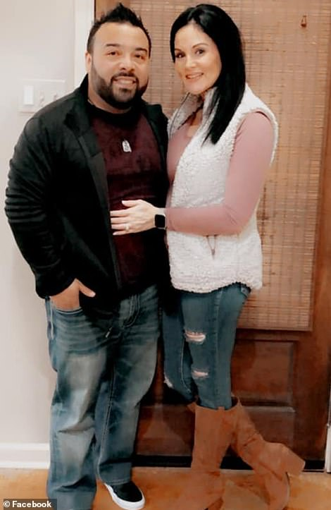 Jay Guevara with fiancee Krista Vercher