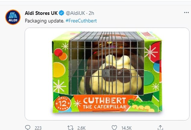 In a series of Twitter posts, the budget supermarket made fun of its rival after they launched an intellectual property claim with the High Court this week
