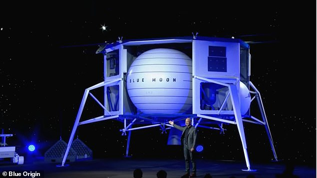 Blue Origin has been working on moon landing system, known as Blue Moon, since 2017