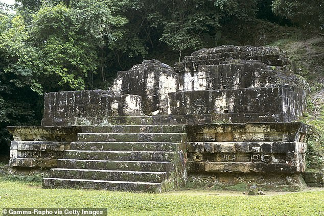 A 5th century structure from Tikal illustrating the influence of Teotihuacan, who had conquered it a century earlier