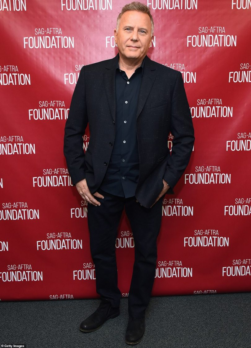 There he is: Paul is pictured at a SAG-AFTRA event in 2019