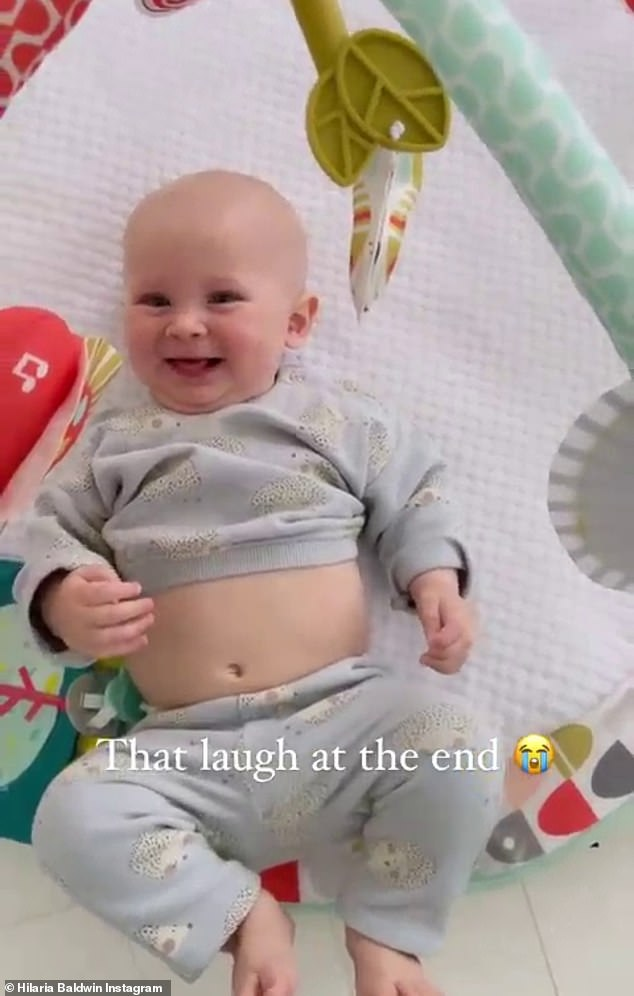 Funny touch: this turns our couple's youngest son into a memorable laugh