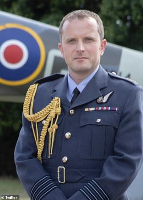 Group Captain Nick Worrall, Station Commander RAF Northolt Group, will also accompany the coffin