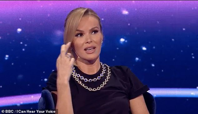Oh dear! Amanda Holden was cheekily teased by her I Can See Your Voice co-stars during Saturday's episode after she 'name dropped' Andrew Lloyd Webber