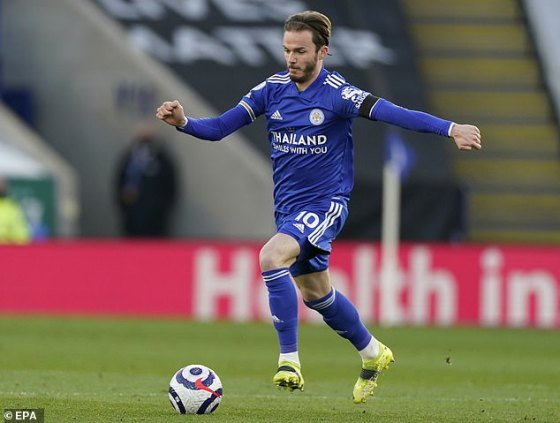 James Maddison has thwarted his hopes of making it to the England squad for the euro