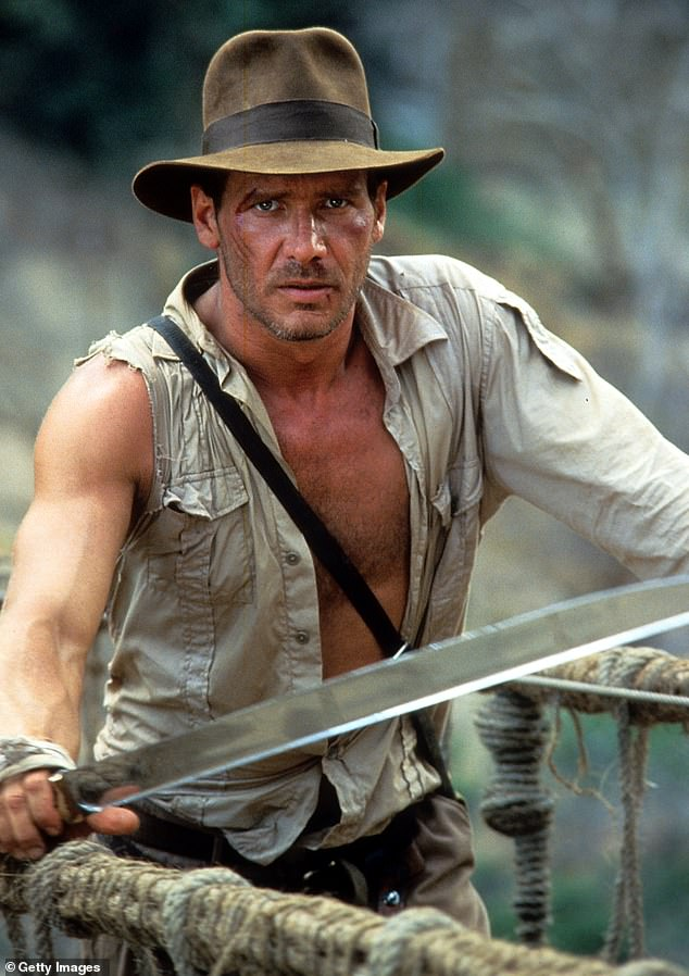 Doing it again: The actor is set to appear in the forthcoming fifth film in the Indiana Jones franchise (He's seen performing above in 1984'sIndiana Jones And The Temple Of Doom)