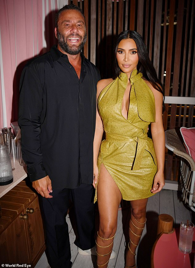 VIP: Kim, on the other hand, hung out behind the DJ booth with her friends Jonathan Cheban and Stephanie Shepherd while Alesso gave a surprise performance.  Bad Bunny, Sean Penn, Chris Rock, Vanessa Hudgens, Rick Ross, Anitta and Future were also in attendance