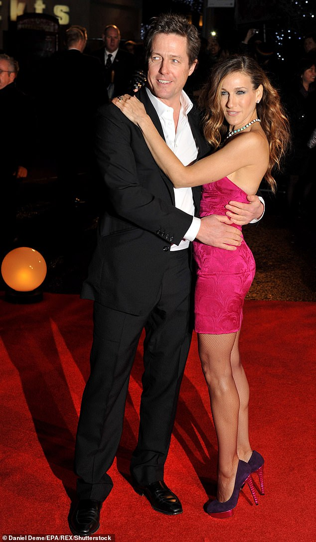 Love interest: Hugh Grant's next role could be in Sex And The City for the upcoming reboot, as Sarah Jessica Parker wants a 'big' male star to join the cast (pictured together in 2009)