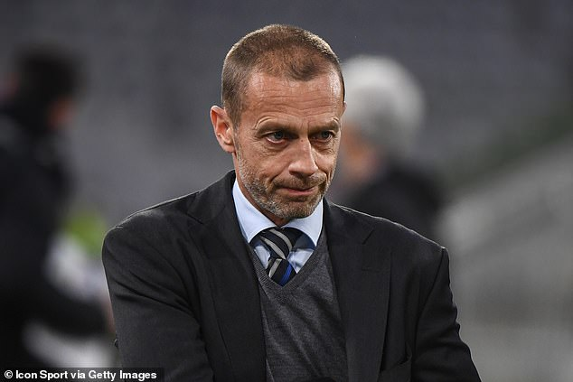 News of English football's Big Six planning to breakaway will be highly damaging for UEFA and their president Aleksander Ceferin (pictured)