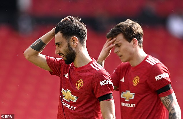 The Red Devils struggled to lay down their mark in the first-half and were unable to find the net
