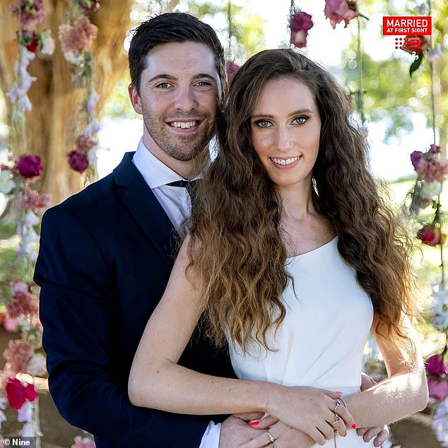 Happily ever after:Belinda is still in a relationship with her on-screen husband Patrick