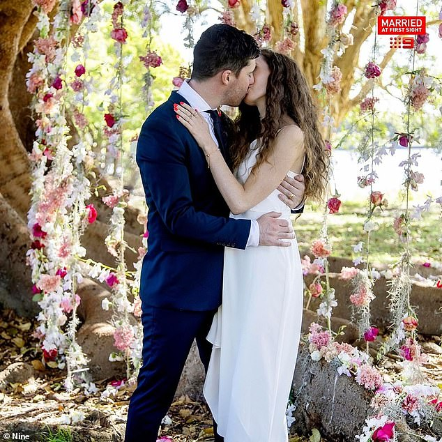 Still together!Standing in front of each other for their final vows, Belinda, 30, and Patrick, 27, professed their love for each other on the show before a passionate kiss