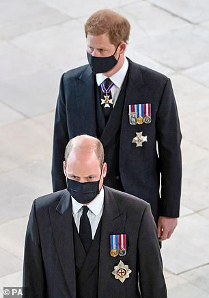 This could have been a moment of risk, instead it allowed us the first glimpse of the possibility that somehow William and Harry can put their bitter split behind them and rebuild that once whisper-close bond.
