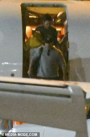 In Australia: Matt arrived in Australia early this year