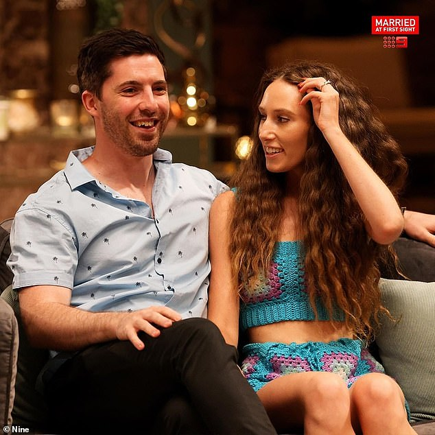 Love at first sight: Patrick, 27, and Belinda are one of the few couples to have emerged from this year's season of the hit reality show still together