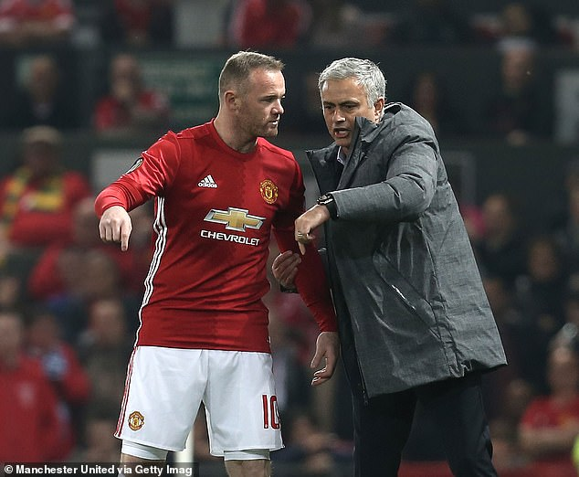 Rooney played under Mourinho at Manchester United and is confident he will bounce back