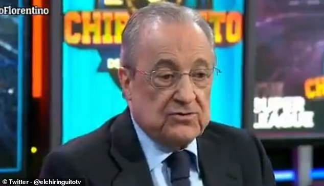 Florentino Perez has claimed the European Super League is needed to save football financially