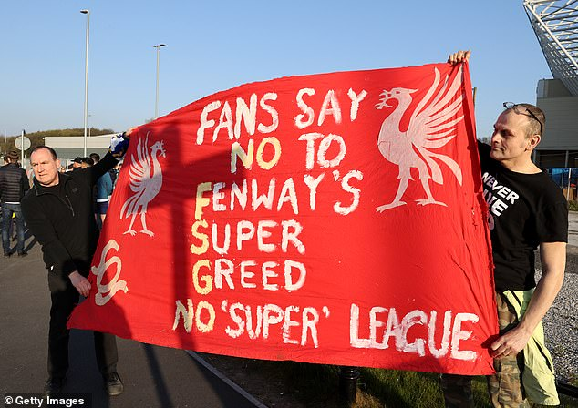 Protests have broken out across the UK from fans of Liverpool in particular against the breakaway league
