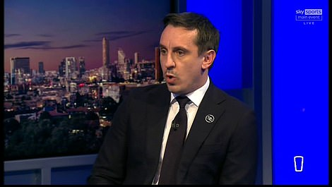 Manchester United legend Gary Neville raged at the club's owners during his appearance on Monday Night Football