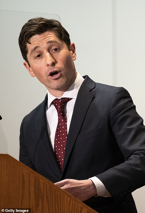 Minneapolis Mayor Jacob Frey said he 'disagreed with the underlying premise' that the news of the settlement has had a negative impact on the murder trial
