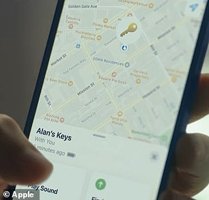 Once AirTag is set up, it will appear in the new Items tab in the Find My app, where users can view the item's current or last known location on a map