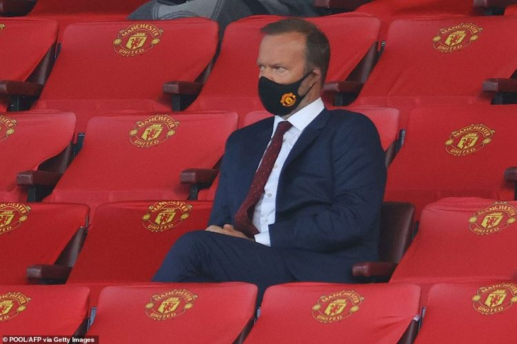 In a sign of a potential split at Manchester United, it was tonight announced the club's executive vice-chairman Ed Woodward would leave the club