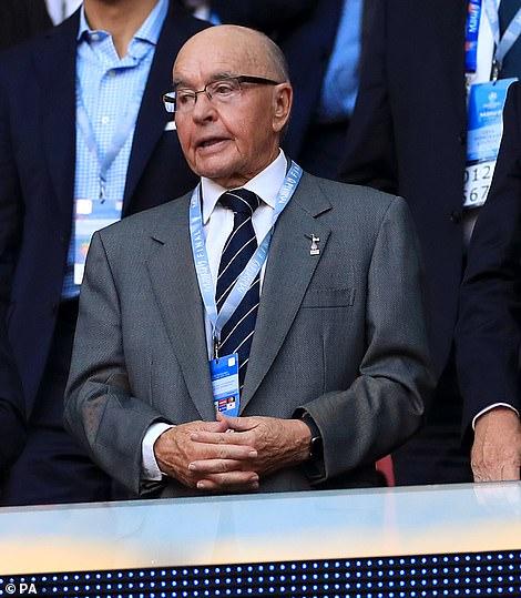 Tottenham owner Joe Lewis