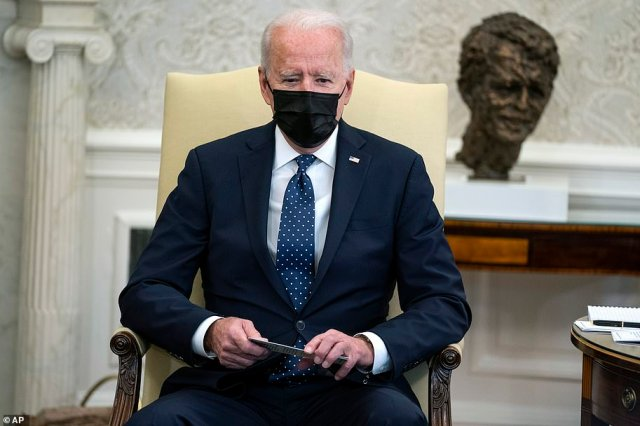 President Joe Biden said he is praying for George Floyd's family and called the evidence in the Derek Chauvin trial 'overwhelming'