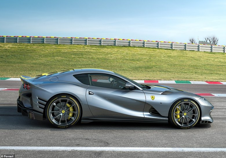 Details about the new 200mph V12 supercar's performance - and price - will be revealed, along with the name, on 5 May, says the Italian brand