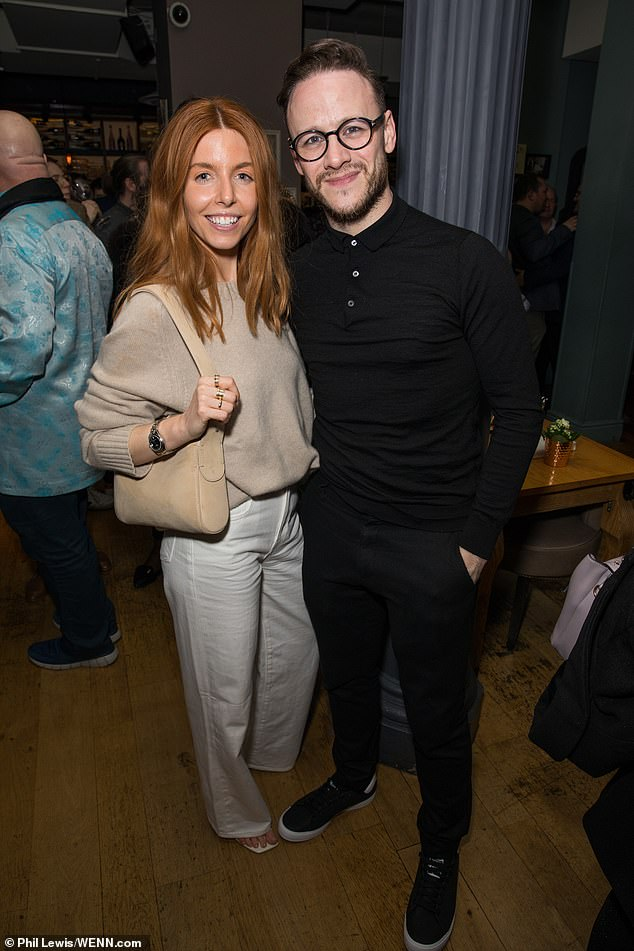 He'd divorce me in a heartbeat!' Stacey recently admitted she won't tie the knot to thrice-married Kevin Clifton (pictured in 2019)