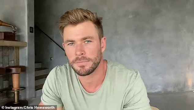 'Liam and Chris have been inseparable throughout their careers, but lately Liam hasn't seemed to be such a fixture among Chris' social circle,' added the source. Pictured, Chris