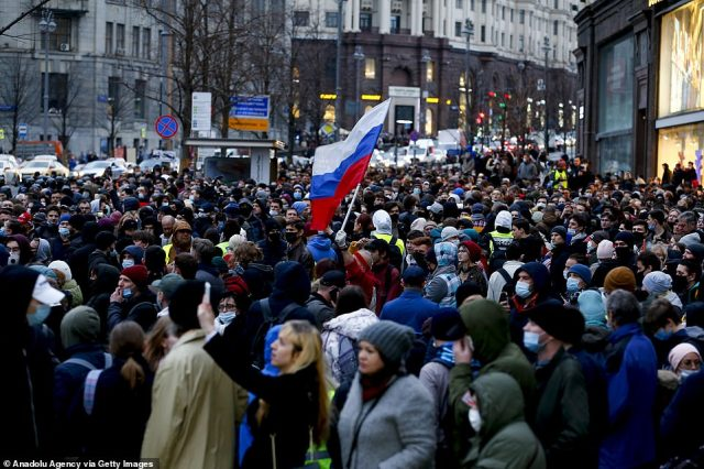 The confrontation over Navalny's fate is a flashpoint in Moscow's dire relations with the West, already aggravated by economic sanctions, diplomatic expulsions and a Russian military buildup near Ukraine