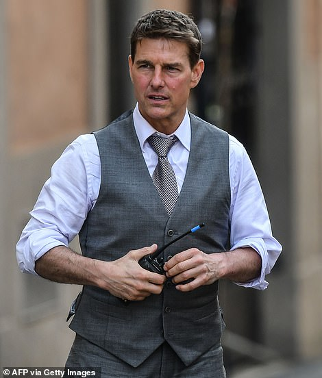 Almost there: It was claimed in February that location filming on Mission: Impossible 7 had wrapped after a marathon global schedule had been interrupted by the COVID-19 pandemic